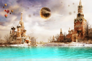 Moscow Art Wallpaper for Android, iPhone and iPad