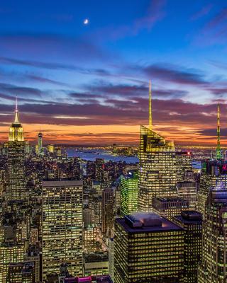 New York, Empire State Building - Obrázkek zdarma pro Nokia 206 Asha
