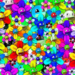 Bright flowers smiles - Obrázkek zdarma pro 208x208