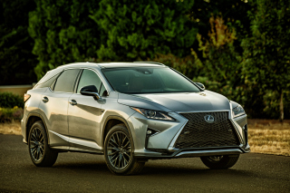 Lexus RX F Sport Luxury Crossover 2015 Background for Android, iPhone and iPad