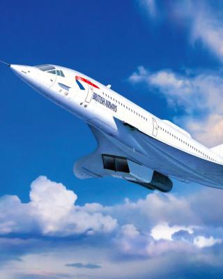 Concorde British Airways - Obrázkek zdarma pro Nokia Asha 503