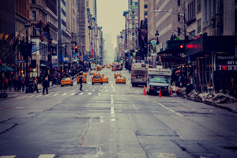 улочка в Нью-Йорке  № 1431661 без смс
