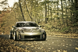 Nissan 350Z Background for Android, iPhone and iPad