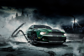 Mustang Monster Wallpaper for Android, iPhone and iPad