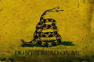 Gadsden flag, Dont tread on me - Obrázkek zdarma pro 1440x1280