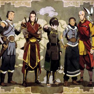 Avatar The Last Airbender - Obrázkek zdarma pro iPad
