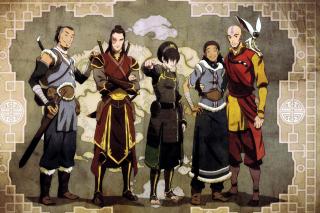 Avatar The Last Airbender - Obrázkek zdarma pro 480x320