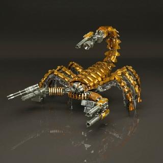 Steampunk Scorpion Robot - Obrázkek zdarma pro iPad Air