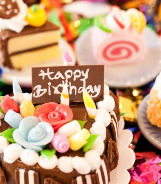 Happy Birthday - Obrázkek zdarma pro Nokia 5800 XpressMusic