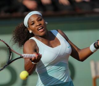 Serena Williams - Obrázkek zdarma pro iPad mini 2