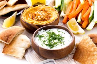 Hummus and Carrot for Veggies - Obrázkek zdarma pro Samsung Galaxy Ace 4