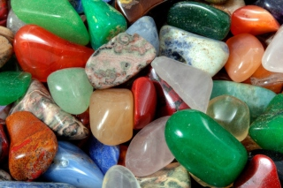 Free Colorful Stones Picture for Nokia XL