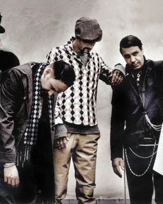 Rammstein Band - Obrázkek zdarma pro iPhone 4
