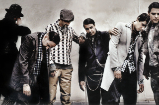Rammstein Band - Obrázkek zdarma pro Samsung Galaxy Q