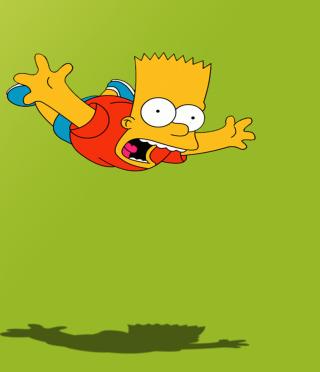 Bart Simpson - Obrázkek zdarma pro 640x1136