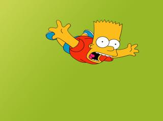 Bart Simpson - Obrázkek zdarma pro Samsung Galaxy A3