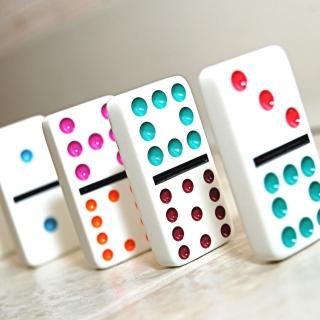 Domino board game - Obrázkek zdarma pro 128x128