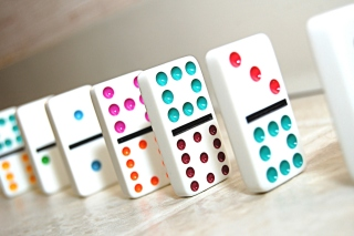 Domino board game Picture for Android, iPhone and iPad