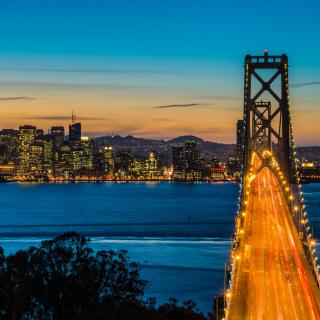 San Francisco, Oakland Bay Bridge - Obrázkek zdarma pro iPad 3