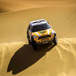 Mini Cooper Countryman Dakar Rally - Obrázkek zdarma pro iPad