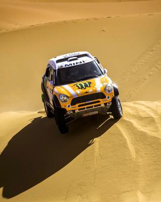 Mini Cooper Countryman Dakar Rally - Obrázkek zdarma pro Nokia C1-01