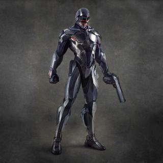 Robocop - Robot Cop - Obrázkek zdarma pro 1024x1024