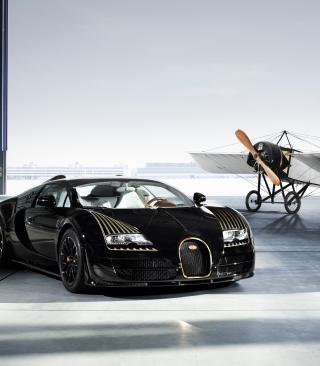 Bugatti And Airplane - Obrázkek zdarma pro 480x800