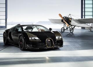 Bugatti And Airplane - Obrázkek zdarma pro Motorola DROID