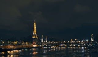 Eiffel Tower In Paris France Background for Android, iPhone and iPad