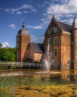 Netherlands Kasteel Ruurlo - Obrázkek zdarma pro Nokia C2-00