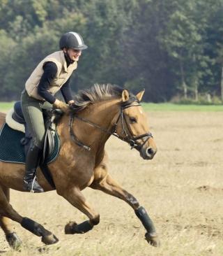 Horse Ride - Obrázkek zdarma pro Nokia 300 Asha