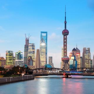 Shanghai Bund Waterfront Area - Obrázkek zdarma pro iPad 2