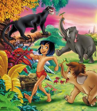 Jungle Book - Obrázkek zdarma pro Nokia C1-01