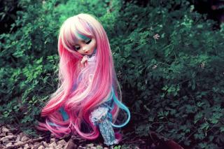 Doll With Pink Hair - Obrázkek zdarma pro Samsung Galaxy Tab S 10.5