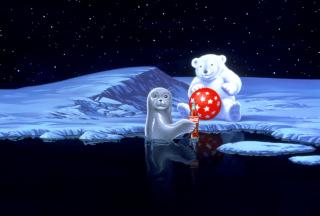 Coca-Cola Christmas Party On North Pole - Obrázkek zdarma pro Android 480x800