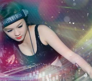 Asian Dj Girl - Obrázkek zdarma pro iPad
