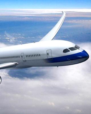 Airplane Private Jet - Obrázkek zdarma pro Nokia Asha 306