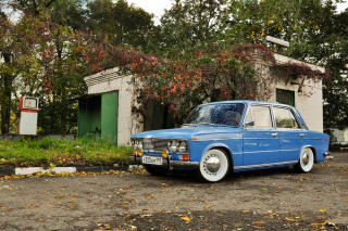 VAZ Lada 2106 Background for Android, iPhone and iPad