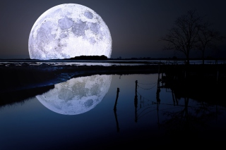 Full Moon Picture for Android, iPhone and iPad