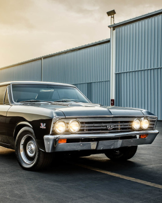 1967 Chevrolet Chevelle SS - Obrázkek zdarma pro 480x854