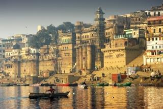 Varanasi City in India - Obrázkek zdarma pro Android 2880x1920