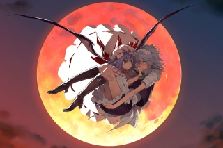 Free Sakuya and Remilia Picture for Android, iPhone and iPad