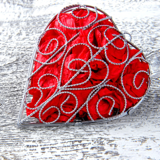 Red Heart - Obrázkek zdarma pro iPad 3