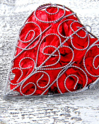 Red Heart - Obrázkek zdarma pro 768x1280