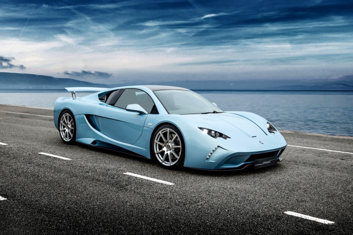 Vencer Sarthe Sport Car Wallpaper For Android, IPhone And IPad