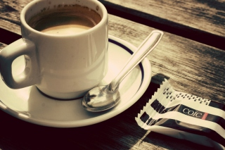 Biscuit And Coffee Cup Picture for Android, iPhone and iPad