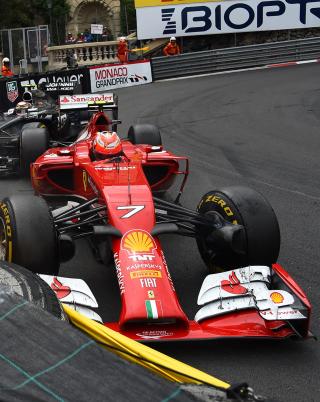 Ferrari Formula 1 Monaco - Obrázkek zdarma pro iPhone 4