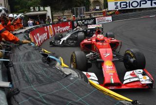 Ferrari Formula 1 Monaco - Obrázkek zdarma pro Nokia Asha 201