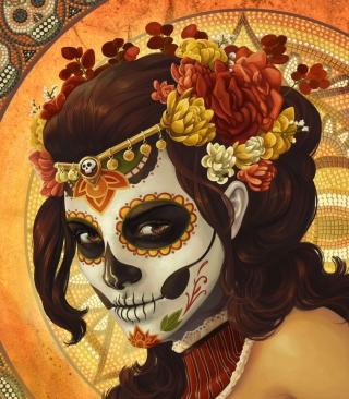 Dia De Muertos - Obrázkek zdarma pro 240x400