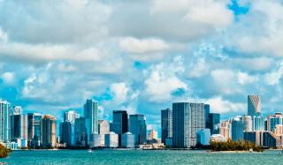 Miami USA - Obrázkek zdarma pro 1366x768